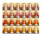 Hemingworth Machine Embroidery Thread- Shades of Orange all on this page
