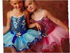 NWT Wolff Fording Dance COSTUME Ballet Costume Silver Sequin Pink or Blue Girls