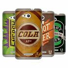 HEAD CASE DESIGNS VINTAGE CANS HARD BACK CASE FOR SONY XPERIA E4G