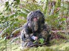 Kids Paintball Sniper 4-Piece Woodland Ghillie Suit