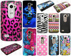 For Boost Mobile LG Tribute 2 HARD Protector Case Snap Phone Cover +Screen Guard