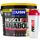 USN Muscle Fuel Anabolic 4Kg / 4000g / 8.8lbs - All Flavours + Free Any Shaker