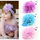Infant Toddler Cute Baby Kids Girls Flower Headband Hairband Hair Accessories