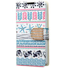 For Boost Mobile LG Tribute 2 Premium Leather Wallet Pouch Flip Cover Accessory