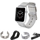 Stainless Steel Mesh Bracelet Strap Watch Band for Apple Watch iWatch 38/42mm
