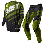 Shift 2015 Motocross Hose Jersey Assault Race Schwarz/grÃŒn Enduro Cross MTB Qua