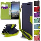 For Huawei SnapTo / Pronto LTE Wallet Case Credit Card Cash Flip Folio Pouch