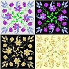 Anemone Quilt #2, Design 9-in 4 sizes-Anemone Quilt Designs & Embroidery Singles