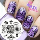 Nail Art Stamp Template Image Stamping Plates Manicure DIY BORN PRETTY #03