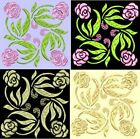 Anemone Quilt #4, Design 3-in 4 sizes-Anemone Quilt Designs & Embroidery Singles