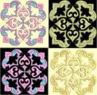 Anemone Quilt #5, Design 2-in 4 sizes-Anemone Quilt Designs & Embroidery Singles