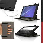 PU Leather Skin Folio Case for Sony Xperia Z4 Tablet SGP771 712 Flip Stand Cover