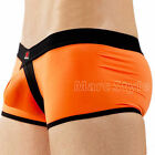 Men's Running Shorts Boxers Briefs Trunks Smooth Underwear New 8Color S M L
