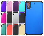 For HTC Desire 626 HARD Astronoot Hybrid Hard Rubber Silicone Case +Screen Guard