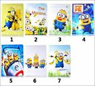 For Samsung Galaxy Tablet T110 T230 T530 Cartoon Minions Stand PU Leather Cover