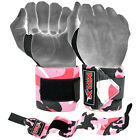 "Power Weight Lifting Wrist Wraps 18"" Long Gym Training Bandages 3 Cameo Colors"