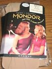 New Mondor Child Ice skate dance 3311 Suntan STIRRUP MICROFIBER TIGHTS 4 thru 14
