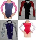 GYMNASTICS LEOTARD / LEOTARDS ZONE DELUXE SIZE 24 - 32   AGES 3 - 13