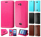 For Kyocera Hydro Wave C6740 Premium Wallet Case Pouch Flap STAND Phone Cover