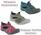 Northwest Territory Sports Adventure Trail Walking Closed Toe Sandals Shoes 3-8