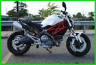 Ducati : Monster 696 abs repairable rebuildable salvage runs drives ez project needs fix low mile