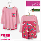 Joules Junior Lorna Girls Jersey Top (T) **BNWT** **FREE UK Shipping**