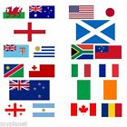 RUGBY WORLD CUP 2015 NATIONAL COUNTRY LARGE QUALITY SUPPORTER 5 x 3FT FANS FLAG
