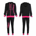 NEW 2PCS Tracksuit Hoodies Zip Jacket Pants Gym Exercise Sportswear Casual Suit