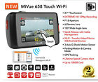 "MIO Mivue 658 Touch Wifi 2.7"" Car Accident Crash Dash Camera HD 2304P Recording"