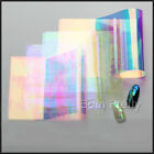 1Pc Holographic Nail Art Foils Shiny Laser Foils Transfers Stickers Paper