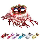 Mask Lace Veil Sexy Prom Fashion Veil Mask for Party Halloween Masquerade Mask