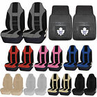 NHL Toronto Maple Leafs Rubber Floor Mat High Back Seat Cover Universal Combo $59.95 USD on eBay