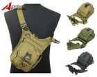 Tactical Military Molle Shoulder Sling Bag Backpack Pouch Outdoor Camping Hiking