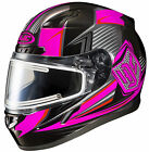 HJC 2015 Womens Striker CL-17 MC8 Snow Helmet Black/Pink XS-XL