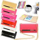 """Luxury Leather Flip Cover Credit Card Wallet Case For Apple iPhone 6 4.7"""" Stand"""