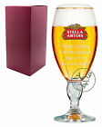 Personalised 1 Pint STELLA Branded Beer Glass Chalice Wedding Photographer Gift