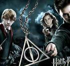 Tone Harry Potter The Deathly Hallows Charm Pendant Chain Necklace
