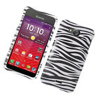 For Kyocera Hydro Wave C6740 Hard Protector Case Phone Cover + Screen Guard