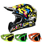 Airoh CR901 Motocross Helm 2015 Rookie Mutlicolor + MX-2-Bude Brille