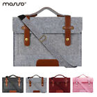 Mosiso Laptop Felt Messenger Case Bag for Macbook Air Pro 13 15 15.6 Notebook