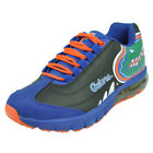 Mens Florida Gators Fergo Urban Sneaker Training Shoe Leather Suede Gator Black