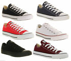 New Mens Womens Convers Chuck Taylor All Star Low Trainers All Colours All Sizes
