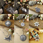 9 Style Vintage Women's Tibetan Silver Turquoise Beads String Pendant Necklace