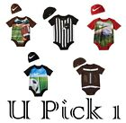 NIKE BODYSUIT HAT CAP BOYS 2 PC SET OUTFIT ATHLETIC SPORTS CREEPER LOGO ROMPER