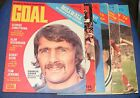 GOAL!  MAGAZINE VARIOUS ISSUES 1972