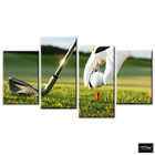 Sports Golf Tee Shot   BOX FRAMED CANVAS ART Picture HDR 280gsm