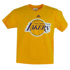 NBA Los Angeles Lakers Deerlodge Jr Youth Shirt Tee Yellow Tshirt Adidas on Ebay