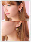 1 pair Alloy Bird/Star Earring Ear Clip Anime Cardcaptor Sakura Cosplay Porps