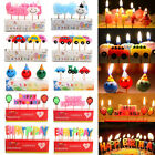 Happy Birthday Cartoon Party Cake Candle Candles Cake Topper Decorations Gift