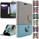 For Huawei Raven LTE Case - Flip Folio Wallet Pouch Cover & Screen Protector
